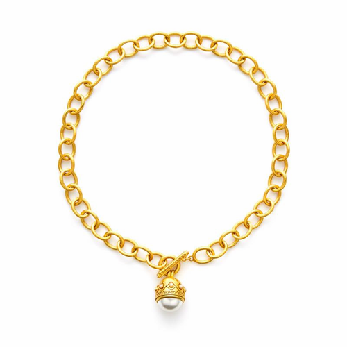 Julie Vos Medici Necklace -Pearl