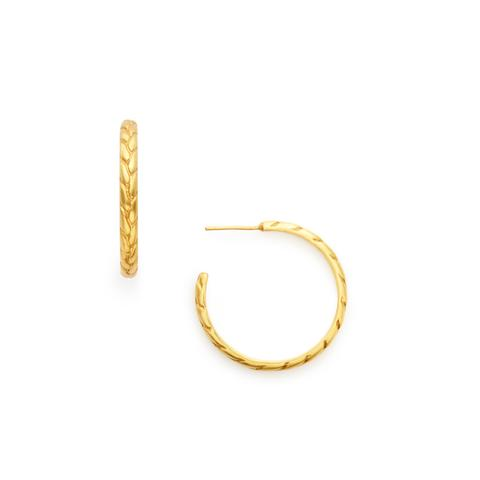 Julie Vos Monterey Medium Hoop Earrings