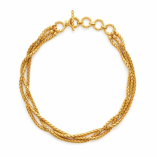 Julie Vos Monterey Necklace -Gold