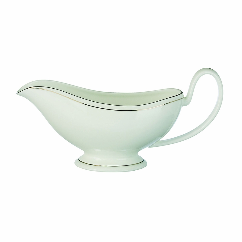 Kilbarry Platinum Gravy Boat By Waterford Special Order