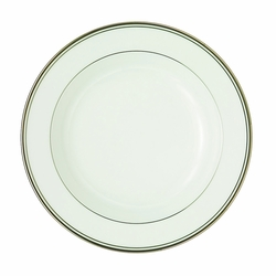 Kilbarry Platinum Rim Soup Plate by Waterford - Special Order