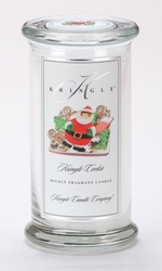 Kringle Cookie Large Apothecary Jar Kringle Candle | Large Apothecary Jar Kringle Candles