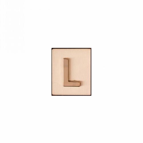 """L"" AKA Monogram Letter & Icon Spacer by Spartina 449"