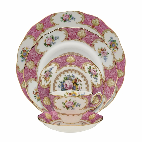 Lady Carlyle 5-Piece Place Setting by Royal Albert - Special Order