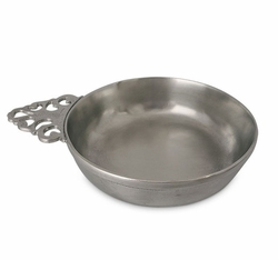 Large Baby Bowl Porringer by Match Pewter