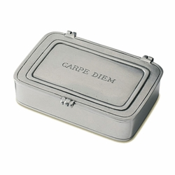 Large Carpe Diem Box by Match Pewter