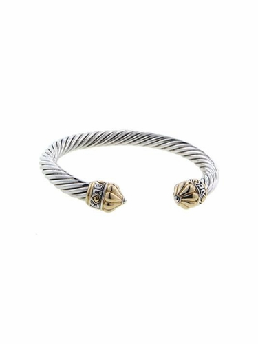 Large O-Link Antiqua Wire Cuff by John Medeiros