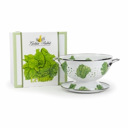 Lettuce Colander Gift Set by Golden Rabbit
