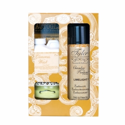 Limelight Glamorous Gift Suite by Tyler Candle Company | Glamorous Gift Sets by Tyler Candle Company