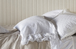 Linen Whisper Pillowcase by Bella Notte