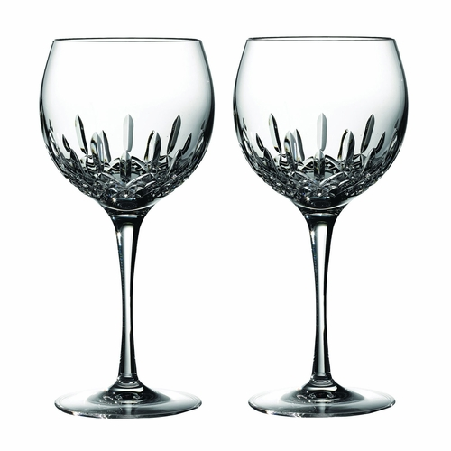 Lismore Essence Balloon Wine Glass Pair by Waterford - Special Order