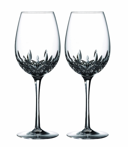 Lismore Essence Red Wine Goblet Pair by Waterford - Special Order