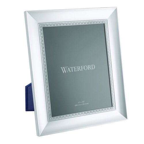 Lismore Lace Silver 8 x 10 Frame by Waterford - Special Order