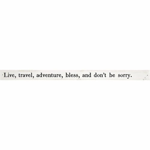 Live, Travel, Adventure Poetry Stick by Sugarboo Designs