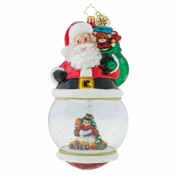 Look Who's On Top Ornament by Christopher Radko