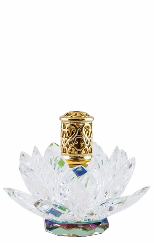 Lotus Blossom Mini Premium Crystal Fragrance Lamp by Alexandria's