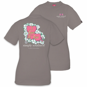 Louisiana I Love it Here Short Sleeve Tee by Simply Southern