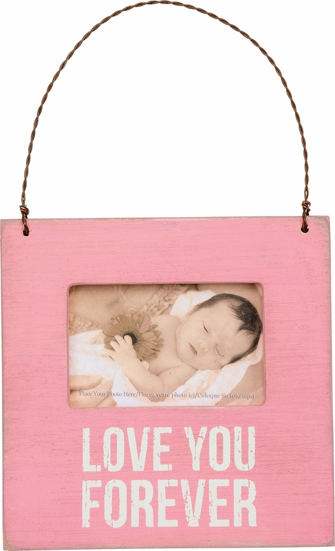 Love You Forever Pink Mini Frame Primitives By Kathy