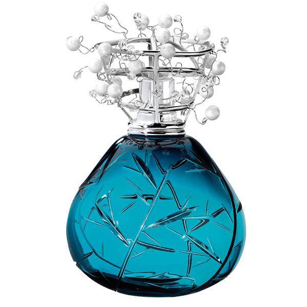 cristal blue fragrance lamp by lampe berger special order. Black Bedroom Furniture Sets. Home Design Ideas