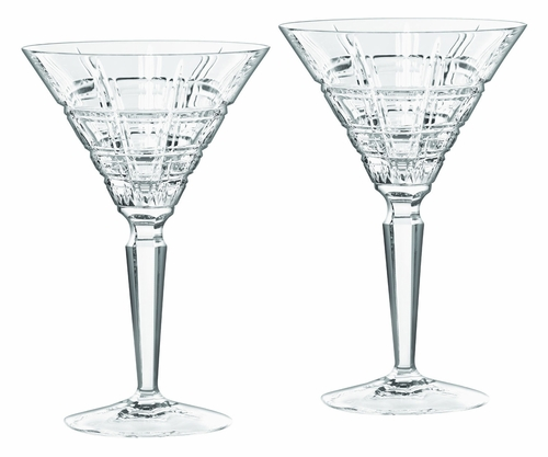 Marquis Crosby Martini Glass Pair by Waterford - Special Order