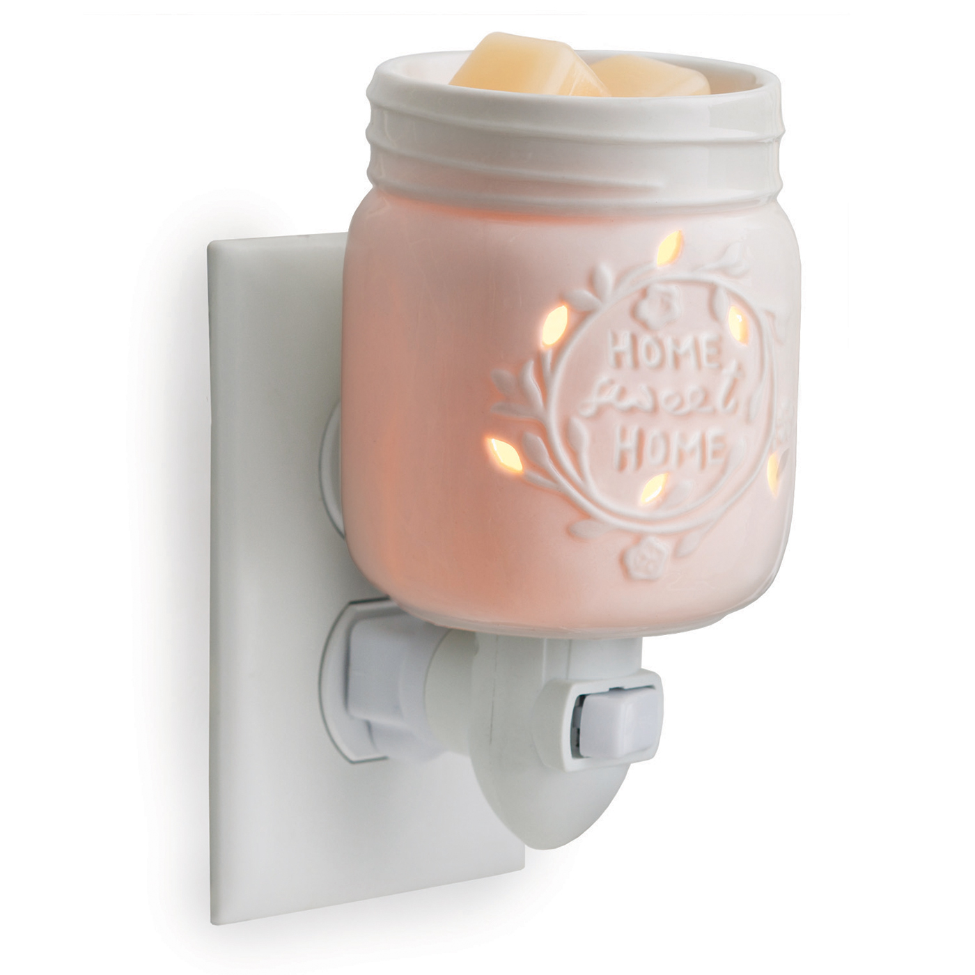 Mason Jar Porcelain Plug In Fragrance Warmer