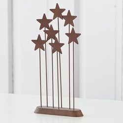 Metal Star Backdrop Nativity by Willow Tree
