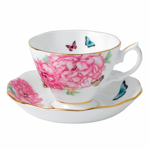 Miranda Kerr Friendship Teacup & Saucer Set by Royal Albert - Special Order