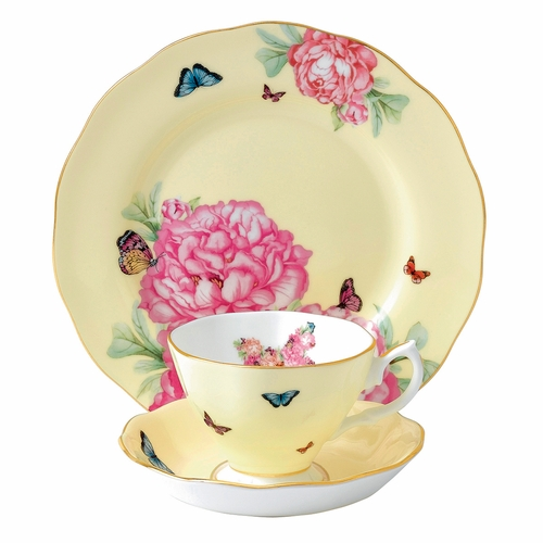 Miranda Kerr Joy 3-Piece Teacup Set by Royal Albert - Special Order