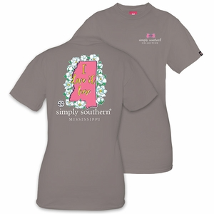 Mississippi I Love it Here Short Sleeve Tee by Simply Southern