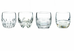 Mixology Assorted Clear Tumbler Set of 4 by Waterford - Special Order