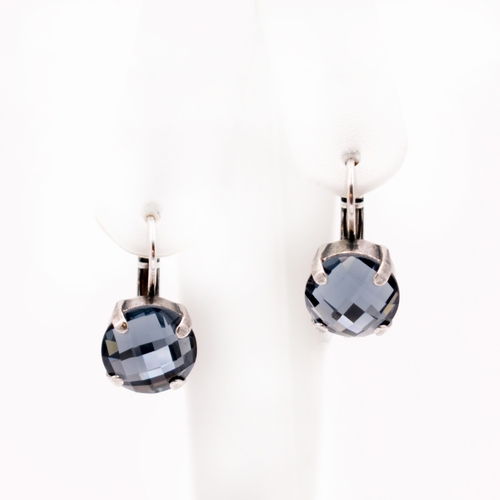 Monarch Denim Blue Earrings by Mariana Jewelry