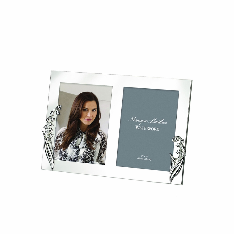 Monique Lhuillier Lily of the Valley 5 x 7 Double Invitation Frame ...