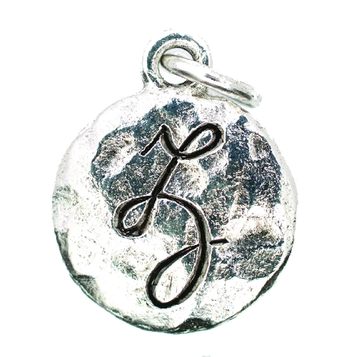 Monogram Collection Silver - Z by Beaucoup Designs