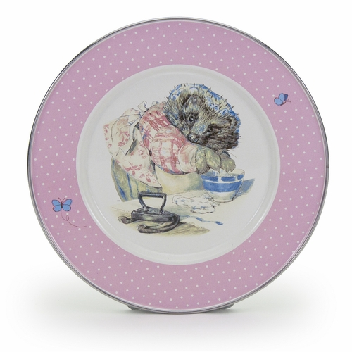 Mrs. Tiggy-Winkle Child Plate by Golden Rabbit