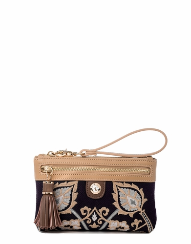 Mulberry Grove Tassel Wristlet by Spartina 449