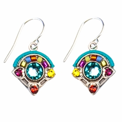Multi-Color Baroque Simple Earrings 7521 - Firefly Jewelry