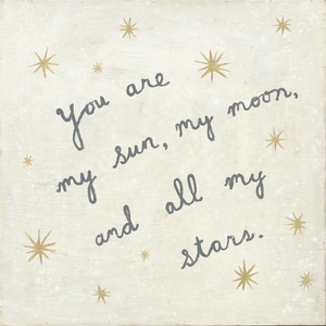 My Sun, My Moon Art Print Collection by Sugarboo Designs