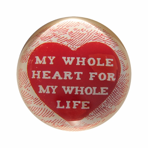 My Whole Heart Paper Weight (Set of 2) by Sugarboo Designs