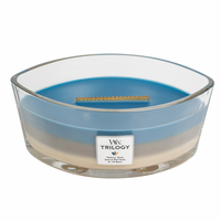 Nautical Escape WoodWick Trilogy Candle 16 oz. Hearthwick Flame