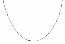 "18"" Sterling Silver 1.5mm Ball Chain - TLSJ BRAND"