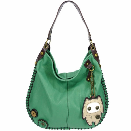 Alien Baby Hobo Handbag - Teal