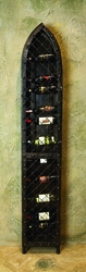 Amalfi 19-Bottle Wine Wall Rack by Bella Toscana