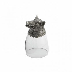 Animale Boar Liqueur Glass - Arte Italica