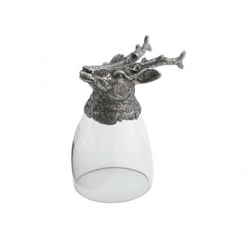 Animale Stag Liqueur Glass - Arte Italica