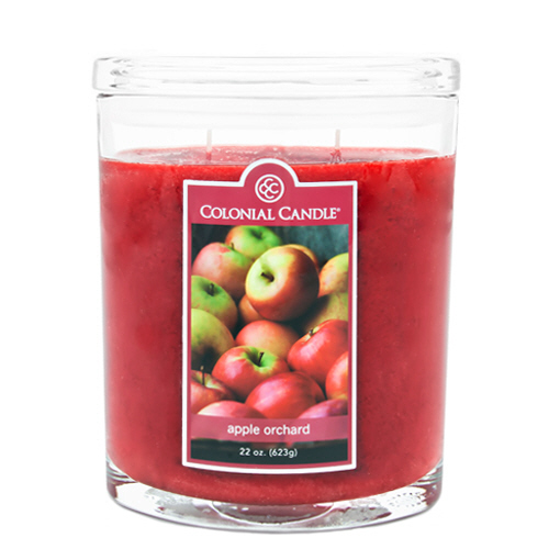 Apple Orchard 22 oz. Oval Jar Colonial Candle