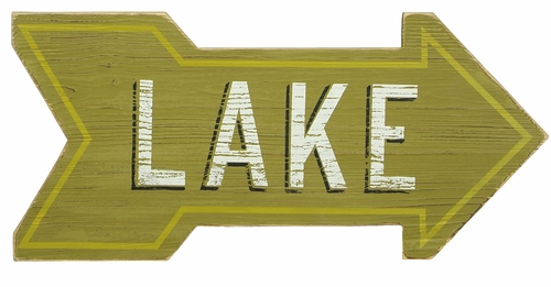 Arrow Lake Sign - Primitives by Kathy