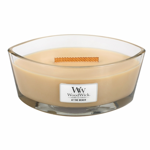 At The Beach WoodWick Candle 16 oz. HearthWick Flame
