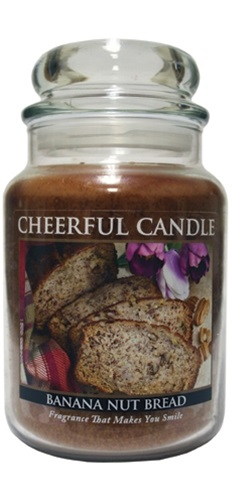 Banana Nut Bread 24 oz. Cheerful Candle by A Cheerful Giver