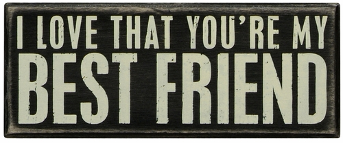 Best Friend Box Sign - Primitives by Kathy