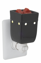 Black Square Plug In Fragrance Warmer